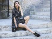 perfect polka dots mini dress