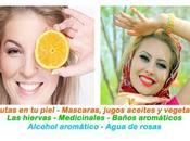 frutas piel harán relucientes hermosas