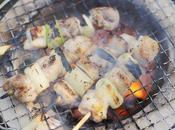 Yakitori, brochetas pollo japonesas