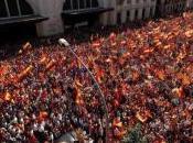 Manifestación Ocubre 2017: fraternidad inunda Barcelona