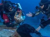 Arqueólogos descubren brazo bronce naufragio Anticitera