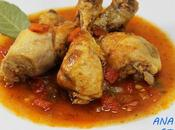 Pollo tomate olla