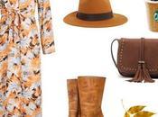 Cómo llevar vestido largo otoño