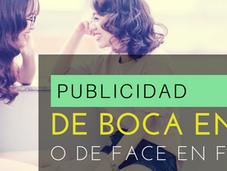 Publicidad Boca Face Face?