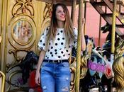 Back 90´s lunares jeans