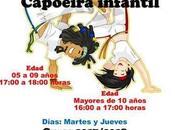 Taller Capoeira infantil impartido Asociación Intercultural Grupo Ginga