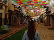 Visita Umbrella Project Agueda, look sporty chic
