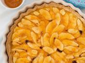 Tarta manzana crema pastelera