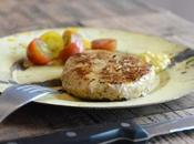 Hamburguesas caseras ternera, pollo verduras