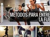 Métodos para entrenar fuerza Muchas personas qu...