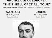 Smith presentará nuevo disco Barcelona Madrid mayo 2018