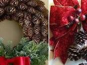 Decoración navideña piñas fácil hacer