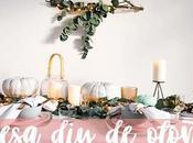 CASA DIY: Pinta calabazas decora bonita mesa otoño