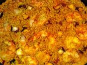 Arroz pulpo gambas