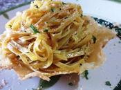 Fettuccini perejil Fettuccine tartufo nero aglio olio