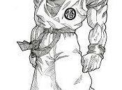 Como dibujar goku para principiantes cuerpo completo