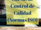 Cursos control Calidad (Normas ISO)