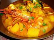 Guiso pescado patatas