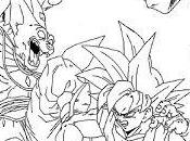 Goku dibujos para pintar dragon ball super color