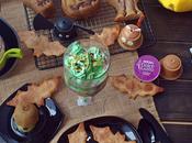 Desayuno halloween (Bizcocho calabaza chocolate) #CreativeBreakfast