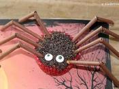 Magdalenas arañas halloween