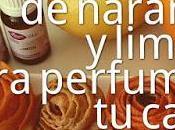 Flores Naranja Limón para Perfumar Casa