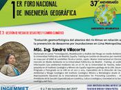 MSC. Sandra Villacorta presentará investigación geomorfológica sobre Rímac UNMSM