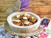Champiñones rellenos jamon serrano queso añejo (sin lactosa)
