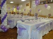 Decoracion salon para fiestas años globos lindos