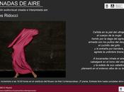 """""""Bocanadas aire"""" """"Sabor cristal"""" noviembre 19:30 Museo Arte Contemporáneo Centro Cultural Conde Duque"""