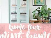 HOME TOUR: Vintage Mint