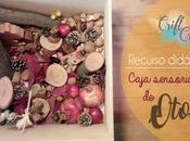 Materiales DIY: Recurso didáctico, Caja sensorial otoño