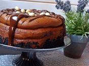 Cheesecake crema cacahuete