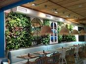 Jardines verticales restaurantes