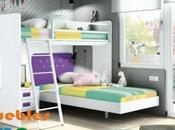 Dormitorios literas: ofrece espacio dormitorios pequeños