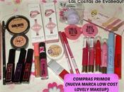 Compras Primor (Novedad marca cost Lovely Makeup)
