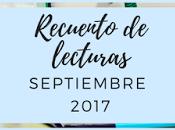 Recuento Septiembre 2017
