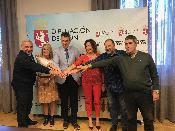 Diputación León firma cinco nuevos convenios entidades sociales provincia destina total 75.000 euros