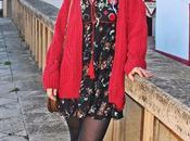 Autumn boho dress