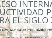 Invitación Congreso Internacional Productividad