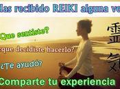 ¿Has recibido REIKI alguna vez?