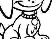 Bonitas imagenes perritos tiernos para pintar animados