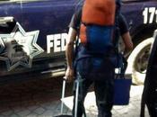 Incómodo vergonzoso desalojo elementos policía federal desvío recursos
