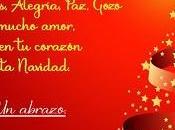 Fondos para postales navidad color rojo estrellas doradas.