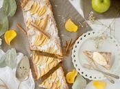 Milopita, pastel griego manzana