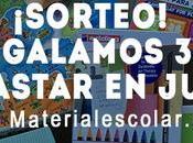 Sorteo!!! Regalamos para gastar juguetes Materialescolar.es
