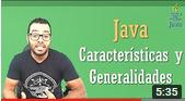 ¿Qué java Características Generalidades?