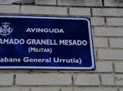 Cambiar cromo General Urrutia Granell.
