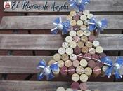 ¿Que hacer tapones corcho? Fácil...un árbol navidad original.