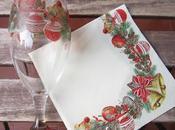 Como decorar copas decoupage para personalizar mesa navidad